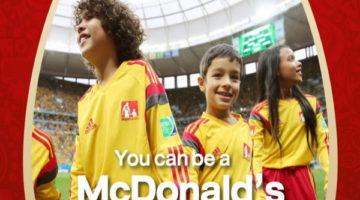 แมคโดนัลด์ คัดเด็กไทย ไปบอลโลก